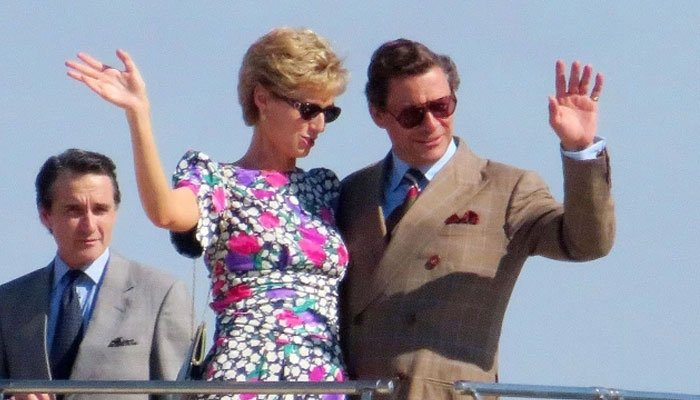 'The Crown': Elizabeth Debicki is the spitting image of Princess Diana in new photos