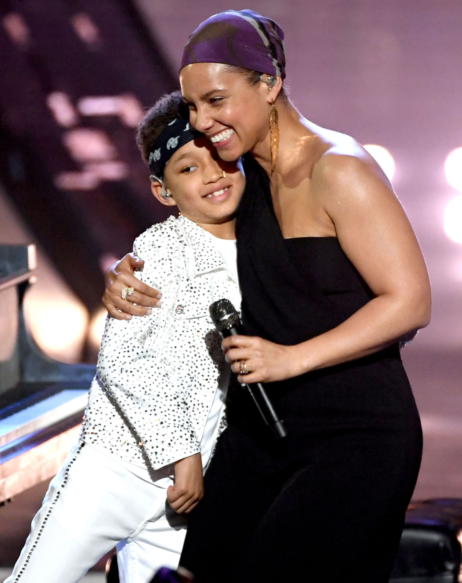 Alicia Keys reminisces over son Egypt first-ever performance: 'It hit me like bricks'