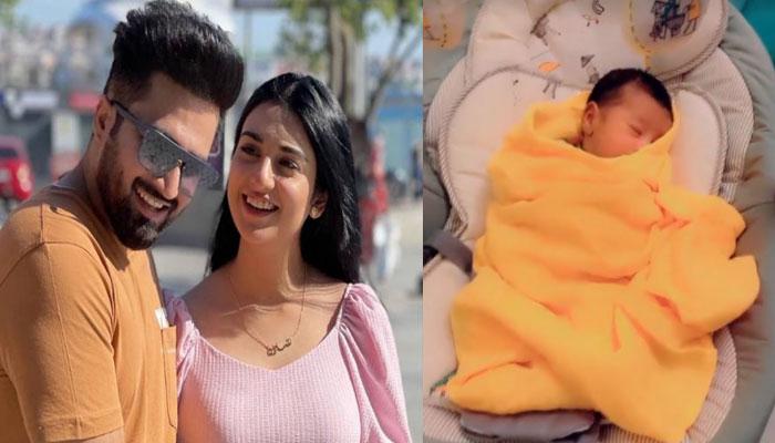 Falak Shabir loves taking care of newborn Alyana: Baba on duty