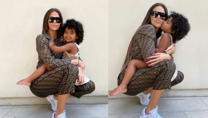 Khloe Kardashian shares what she does raise True with confidence