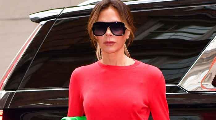 Victoria Beckham gives fans major style envy in wide-legged jumpsuit
