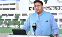 Fawad Chaudhry urges media to provide solution to fake news