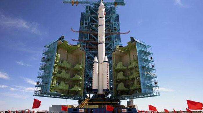 China launches its longest crewed mission to new space station