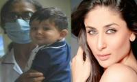 Kareena Kapoor's son Jeh pouts for paparazzi: See Photos