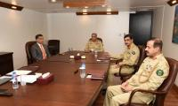 COAS Receives Briefing On Internal Security, Afghanistan From ISI