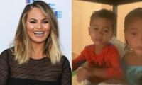 Chrissy Teigen Shares Heartwarming Video By Miles, Luna: 'Come Home Soon'