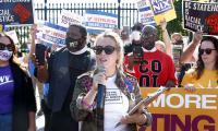 Alyssa Milano arrested while protesting for voting rights outside White House