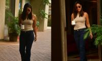 Pics: Kareena Kapoor Steps Out In The City, Looking Chic In A Plain Tee