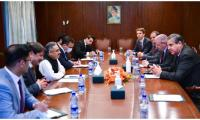 In meeting with NATO delegation, Pakistan urges world to positively engage with Afghanistan