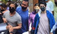Cruise Drugs Case: Shah Rukh Khan Reaches Arthur Road Jail To Meet Son Aryan