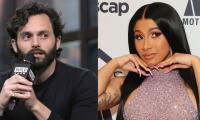 Pen Badgley Calls Cardi B 'social Media Savvy', Rapper Goes Starstruck