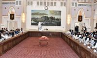 FM Qureshi Meets Interim Afghan PM, Discusses Bilateral Matters
