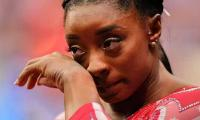 Simone Biles Gets Emotional After Recalling Personal Struggles With Gymnastics
