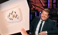James Corden Reveals How Adele Got Céline Dion's Chewed Wad Of Gum