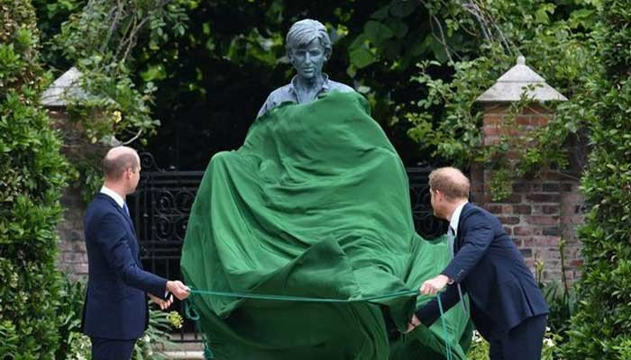 Prince William reveals how happy he and Prince Harry were with Diana's statue - The News International