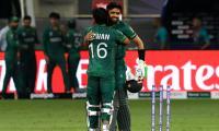 Babar Azam, Mohammad Rizwan break T20 World Cup partnership record