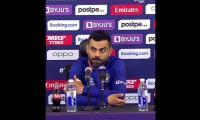 Pakistan vs India: Kohli left shocked after reporter asks him 'brave' question