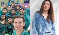 Pakistani celebs congratulate cricket team on historic win against India