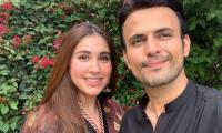 Usman Mukhtar Gushes Over Wife Zunaira Inam: 'Thank You For Making Me So Lucky'
