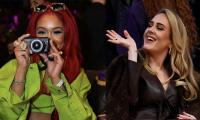 Saweetie Opens Up On Taking Adele's Pictures At LA Lakers' Game
