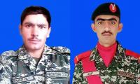 2 soldiers martyred as forces thwart infiltration bid from Afghanistan