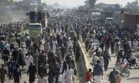 TLP protest enters 7th day