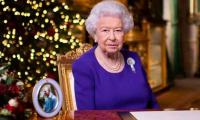 Queen Elizabeth holds a virtual audience via video link from Windsor Castle